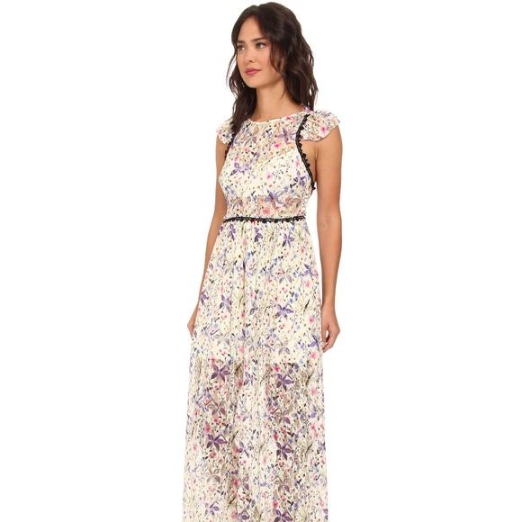Free People Dresses | Nwot Maxi Cherry Blossom Dress | Poshmark